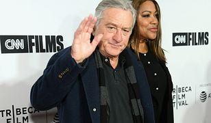 Robert De Niro z żoną, kwiecień 2018, Nowy Jork