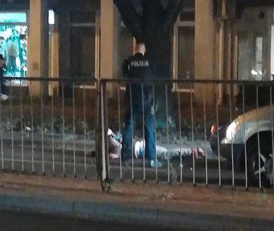 Pruszków. Patrol ścigał podejrzanego. Mężczyzna nagle upadł