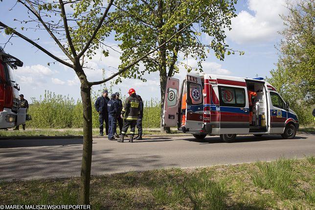 Policja wyjaśnia okoliczności zdarzenia. (zdjęcie ilustracyjne)