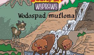 Żubr Pompik. Wyprawy. Tom 11. Wodospad muflona