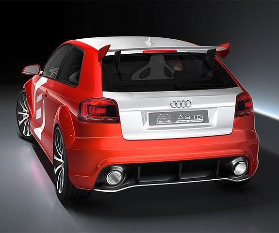 Rosnąca przewaga - Audi A3 TDI Clubsport Quattro