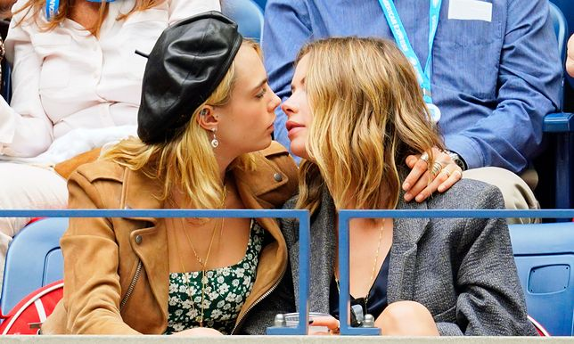 Cara Delevingne i Ashley Benson świętują walentynki