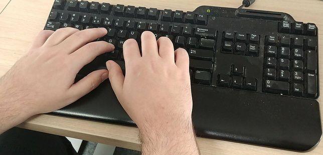 Pisząc na klawiaturze zostawiasz ślady cieplne