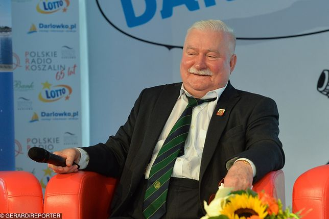 Lech Wałęsa wyciąga rękę do Jarosława Kaczyńskiego. Chce się z nim pojednać