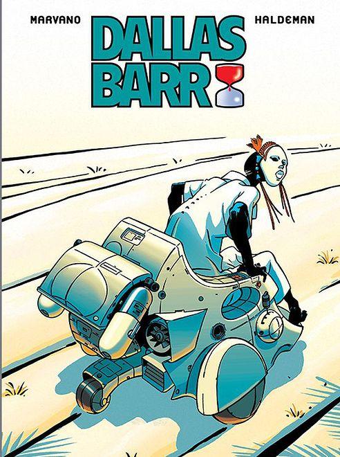 """""""Dallas Barr"""" - okładka tomu zbiorczego"""
