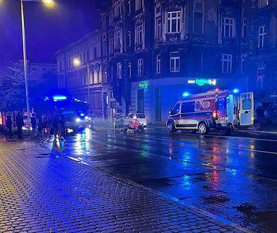Bielsko-Biała. Potrącenie w centrum miasta. 73-latek w szpitalu