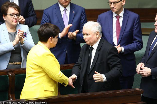 Wotum nieufności wobec rządu Beaty Szydło odrzucone