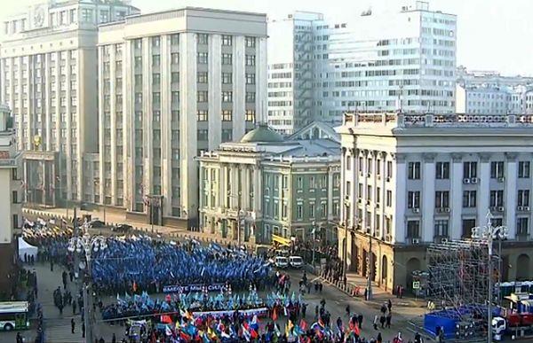 Rosja świętuje zwycięstwo nad Polakami