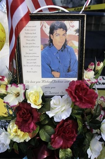 Ameryka opłakuje śmierć Michaela Jacksona - zdjęcia