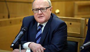 CBA zajęło się oświadczeniami majątkowymi sędziego Stanisława Biernata