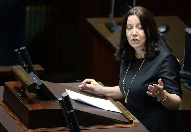 Joanna Lichocka do posłów PO: nieczęsto popieracie zrywy wymierzone w niemiecką dominację