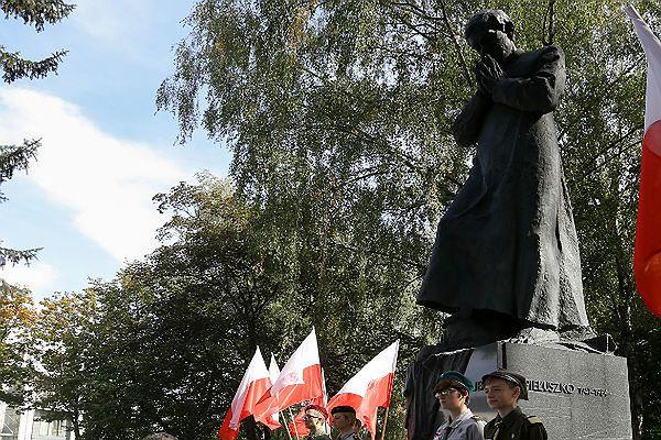 Pomnik bł. ks. Jerzego Popiełuszki w Białymstoku