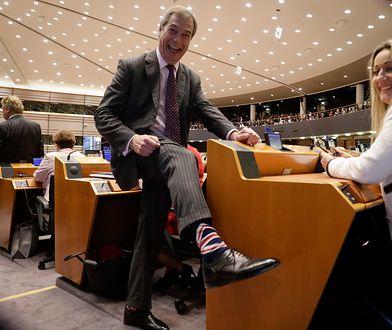 Nigel Farage nie krył poczucia triumfu