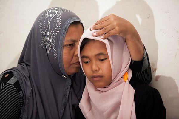 Odnaleziona nastolatka Raudhatul z matką