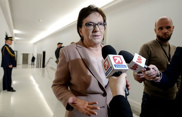 B. premier Ewa Kopacz