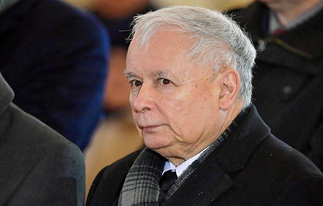 Jarosław Kaczyński domaga się również przeprosin od Agory