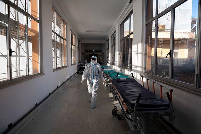 Koronawirus w szpitalu w Radomiu, zdjęcie ilustracyjne