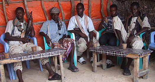 Somalijscy piraci urządzają festiwal piosenki żeglarskiej