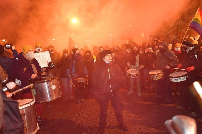 Strajk Kobiet. Protesty w Warszawie
