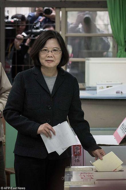 Tsai Ing-wen, prezydent Tajwanu
