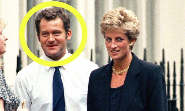 Paul Burrell był ostatnim lokajem księżnej Walii