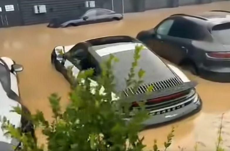 Powodzie w Niemczech. Ten widok łamie serca fanów motoryzacji
