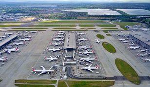 Lotnisko Londyn-Heathrow to jeden z głównych europejskich portów lotniczych