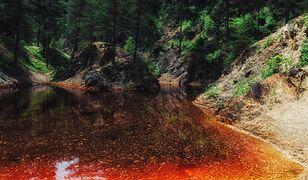Nietypowe atrakcje Polski. Kolorowe jeziorka