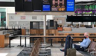 """Bezpieczeństwo na lotniskach w czasie epidemii. Szef Heathrow: """"będą kilometrowe kolejki"""""""
