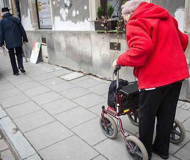 Trudna sytuacja emerytów