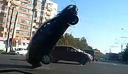 Latający samochód? Nie, to tylko Rosja