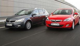 Kia Cee'd SW kontra Opel Astra Sports Tourer