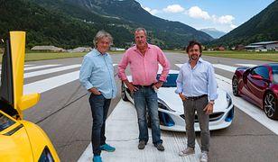 Od lewej: James May, Jeremy Clarkson i Richard Hammond.