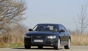 Audi A8 L - takie auta zasiliły szeregi BOR