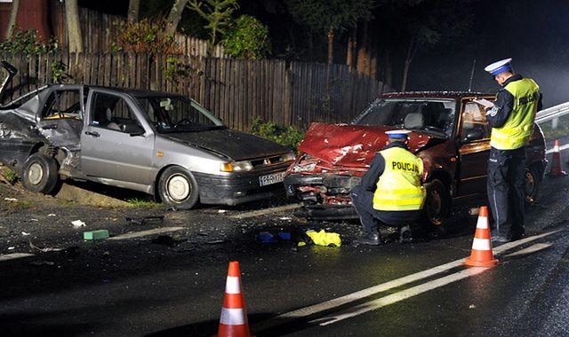 Wypadek w pożyczonym samochodzie