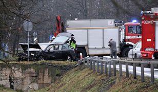Dwie osoby zginęły w piątek w wypadku na DK46 z Opola do Nysy