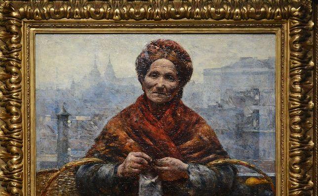 """""""Pomarańczarka"""" i inne odzyskane obrazy Gierymskiego w Kordegardzie"""