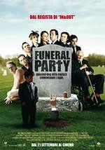 """plakat do filmu """"Zgon na pogrzebie"""""""