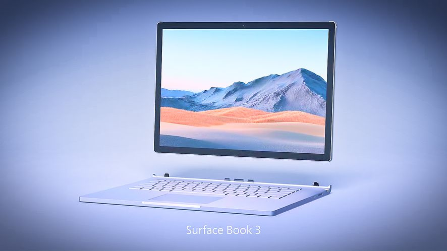 Surface Book 3, fot. Microsoft