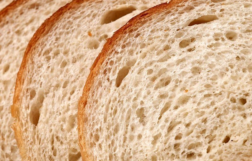 Zdrowy biały chleb