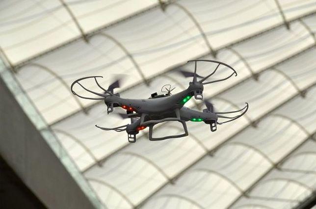 Latał dronem nad Belwederem. Obywatel Łotwy usłyszał zarzuty