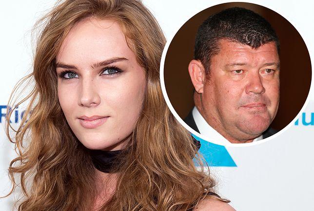 Aktorka Charlotte Kirk oskarża m.in. swojego eks-chłopaka, miliardera Jamesa Packera