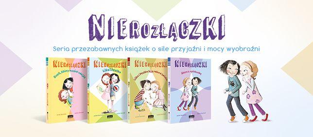 """Z serii """"Nierozłączek"""" powstały już cztery książki"""