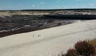 Aktywiści weszli na teren odkrywki węgla brunatnego