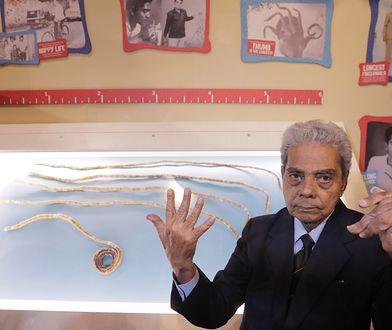 Najdłuższe paznokcie na świecie obcięte po 66 latach. Miały ponad 909 cm długości