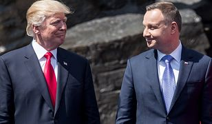Nieoficjalnie: Donald Trump może pojawić się w Warszawie 1 września i spotkać z prezydentem Polski