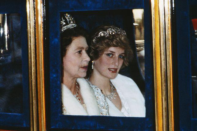 Księżna Diana podpadła królowej Elżbiecie II