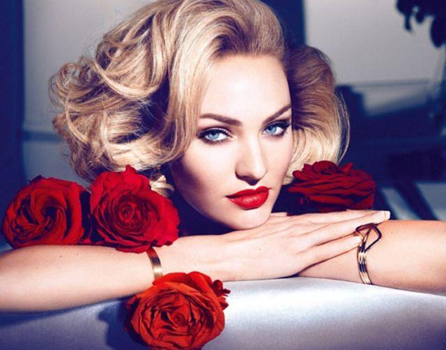Candice Swanepoel ponownie w stylu starego Hollywood