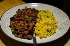 Ryż z czarną fasolą