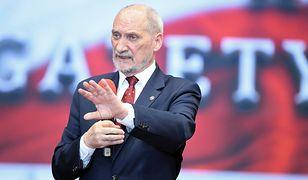 Macierewicz komentuje sprawę wraku tupolewa